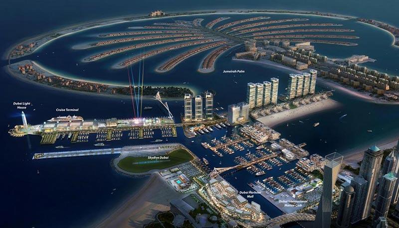 Emaar Beachfront Dubai Harbour Palm Jumeirah Off Plan Dubai